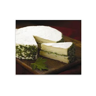Pesto Filled Baby Brie