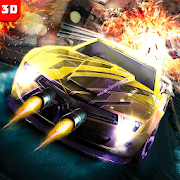 Fastlane Death Road Race - Mad Max Rage Shooter