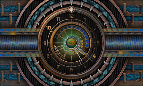 5 Clocks live wallpaper screenshot 16