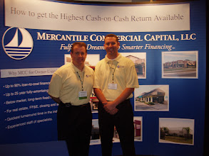 Photo: Chris Hurn with SBA 504 Expert, Tony Zara, at the at the NADCO Annual Meeting. www.504Experts.com