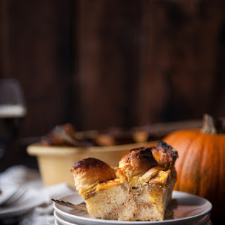 Coconut Pumpkin Ale Overnight French Toast Bake