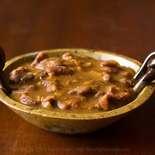 Rasedar Rajma (Kidney Beans in Curry Sauce).