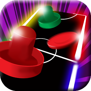 Neon Air Hockey for PC and MAC