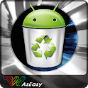 Easy App Cache Cleaner (1 Tap) icon