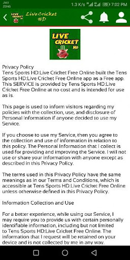 Live Cricket TV - Live Sports TV screenshot 4