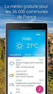 Météo Pocket screenshot 0