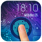 smart phone fingerprint security lock Prank Icon