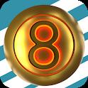 golden 8 icon