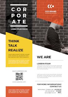 poster maker flyer designer ads page designer programme op