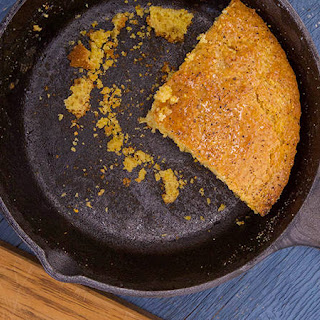 Best-Ever Cornbread with Honey-Butter.