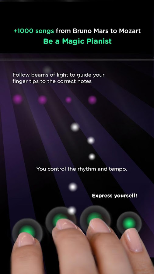 Magic Piano by Smule- screenshot