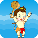Happy Hanuman Jump-Indian game