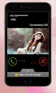 Girl Friends Fake Call & SMS - náhled