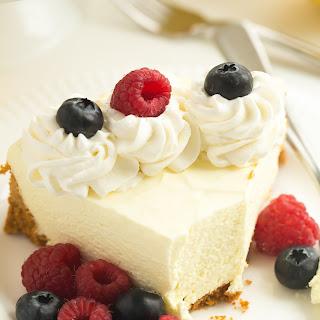 Real Deal No Bake Lemon Cheesecake