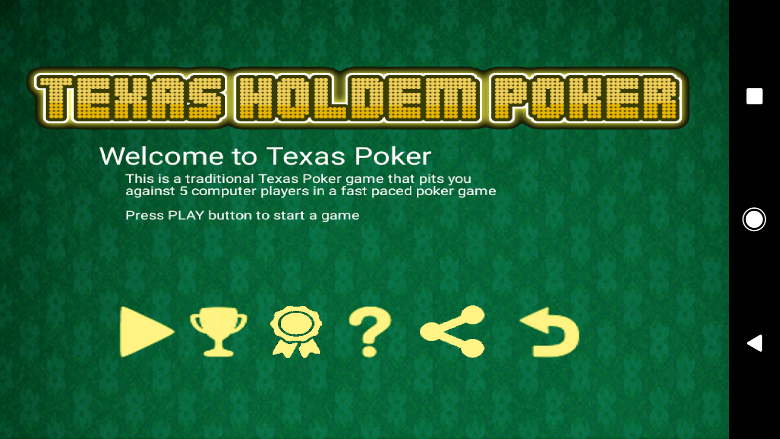 Texas holdem poker number of players