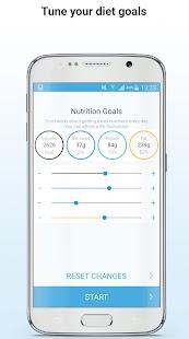 Keto diet tracker - náhled