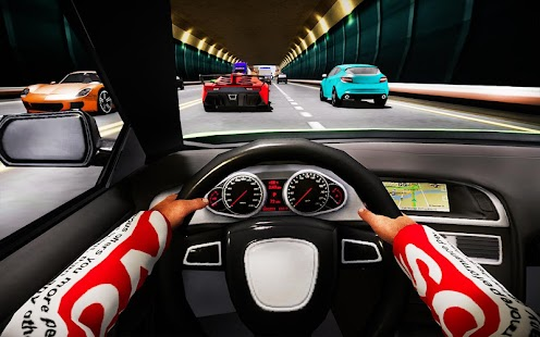 Traffic Race In car 3D - náhled