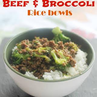 Korean Beef & Broccoli.