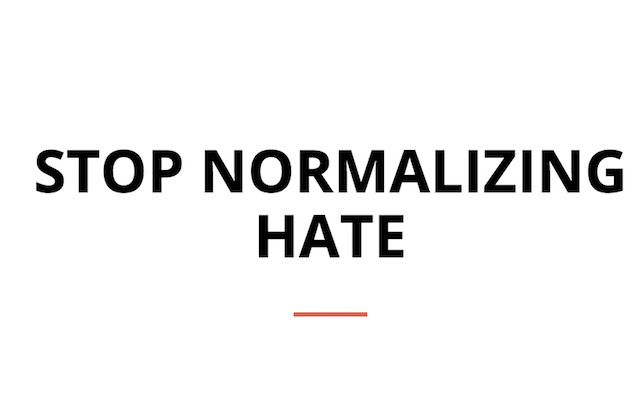 Stop Normalizing Alt Right Neo-Nazi Edition