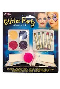 Glitter, makeup
