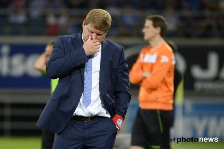 Une équipe de Gand déforcée avant d'affronter le Standard ?