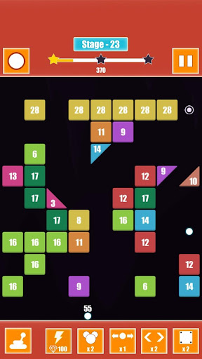 Ball Brick Breaker Puzzle Quest  captures d'écran 2