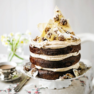 Chocolate Walnut Cake Coffee Recipes