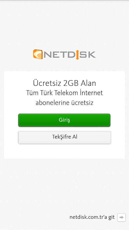NETDİSK- screenshot