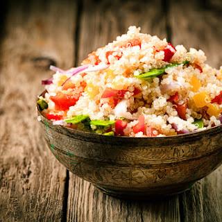 Basil, Bell Pepper and Tomato Quinoa Recipe