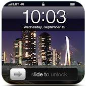 City Night Lock Screen