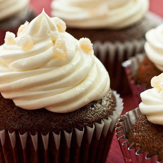 Fresh Ginger Cupcakes.