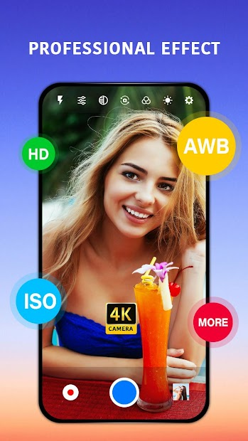 Best Camera Android App Screenshot