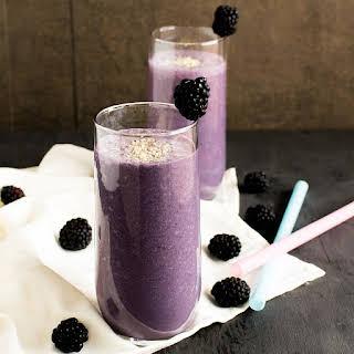 Antioxidant Blackberry Smoothie.