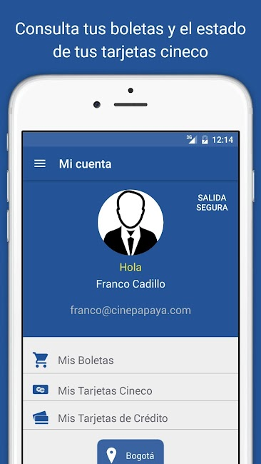 #7. Cine Colombia S.A. (Android)