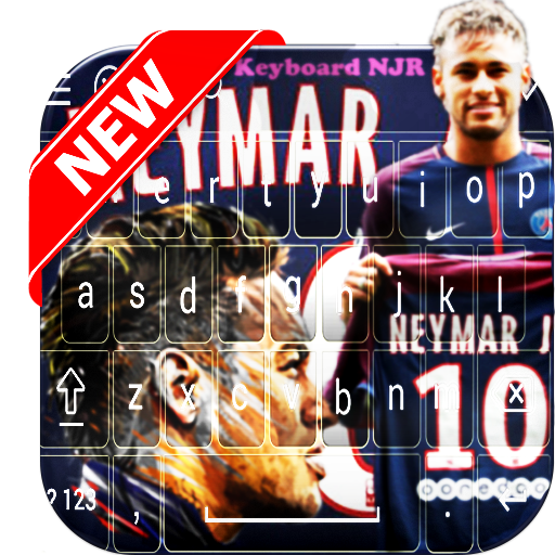 Keyboard - Neymar PSG & Football