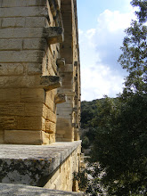 Photo: The aqueduct was built of carefully dressed stones – some over 6-1/2 tons – and without mortar, with only iron clamps used to hold the structure together.