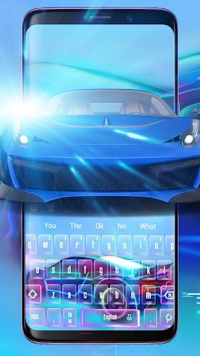 Speedy Sportscar Keyboard 10001006 screenshots 1