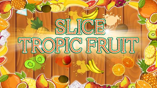Plátky tropického ovoce - náhled