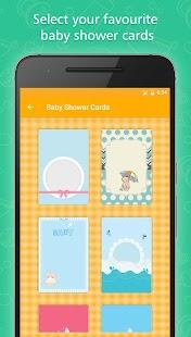 Baby Shower Invitation Card Maker - náhled