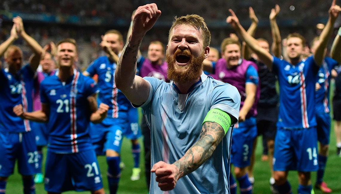 Cinco motivos del éxito de Islandia
