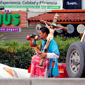 Borders of Mexico by Isabel Song - People Street & Candids ( mexico, jesus )