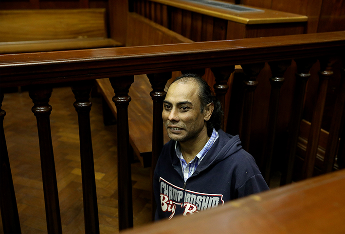 Miguel Louw murder accused giggles and wants to 'go home' - TimesLIVE