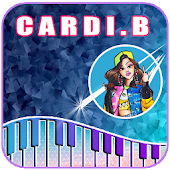 Cardi B - Piano Tiles Android APK Download Free By Gisela  Sappa