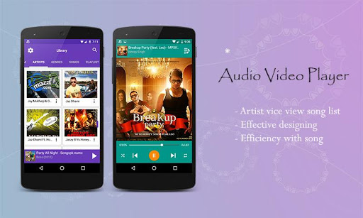 Audio Video Music Player [Free] 1.5.1 gameplay | AndroidFC 2