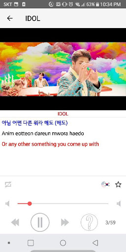 Learn Korean with BTS  screenshots 1