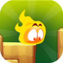 Flamey - Balance ! Crush tower, jump, six effects icon