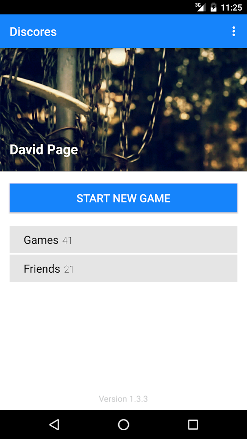 Discores - Disc Golf App- screenshot