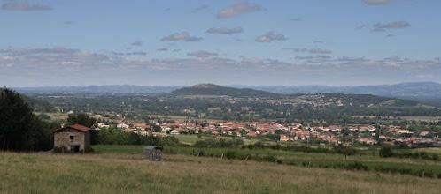 Photo: J24 : Plaine du Forez et Mont d'Uzore, entre Champdieu et Curtieux