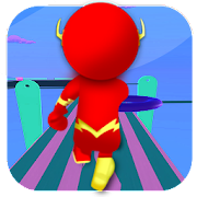 Speedster Stickman - Run Race 3d