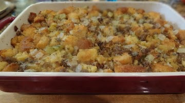 Savory Sausage Stuffing -- Bonnie's Recipe